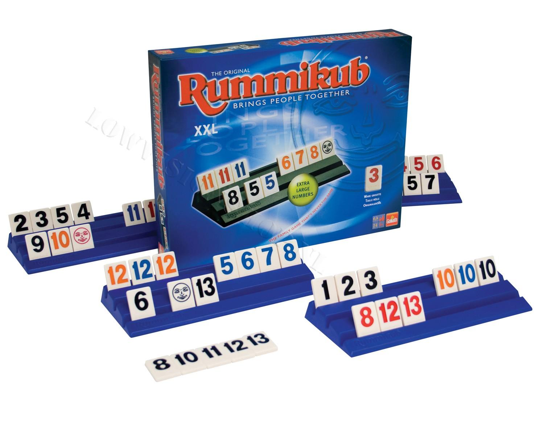 Rummikub XXL met grote letters 50458