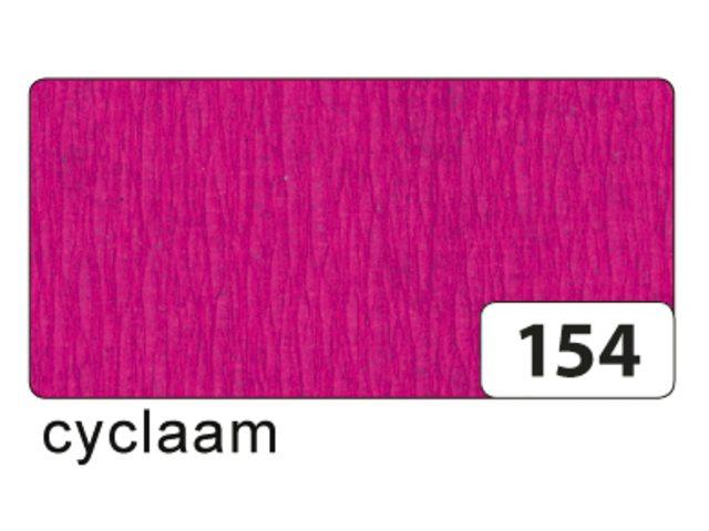 10 vel crepe folia fuchsia roze 822154