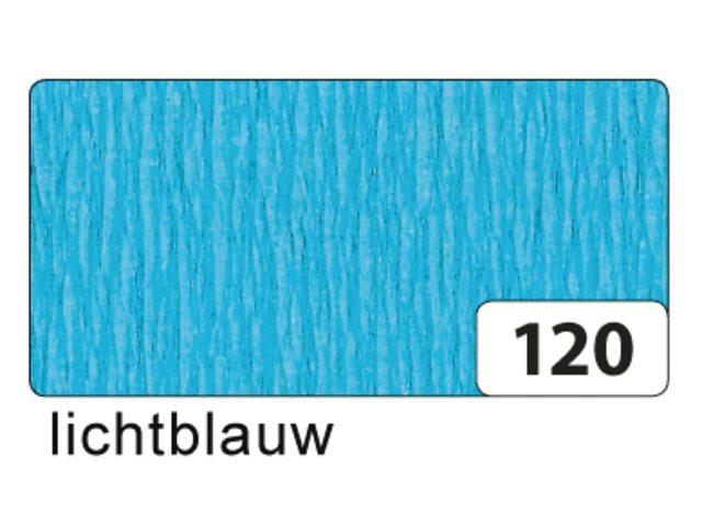 10 vel crepe folia blauw 822120
