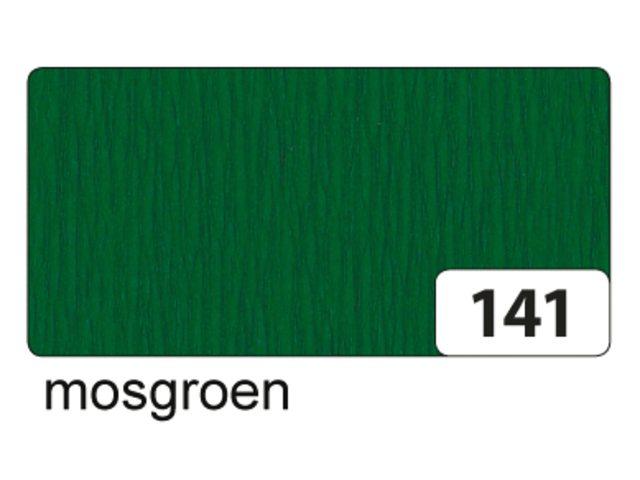 10 vel crepe folia mosgroen 822141