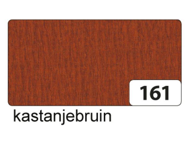 10 vel crepe folia kastaje bruin 822161