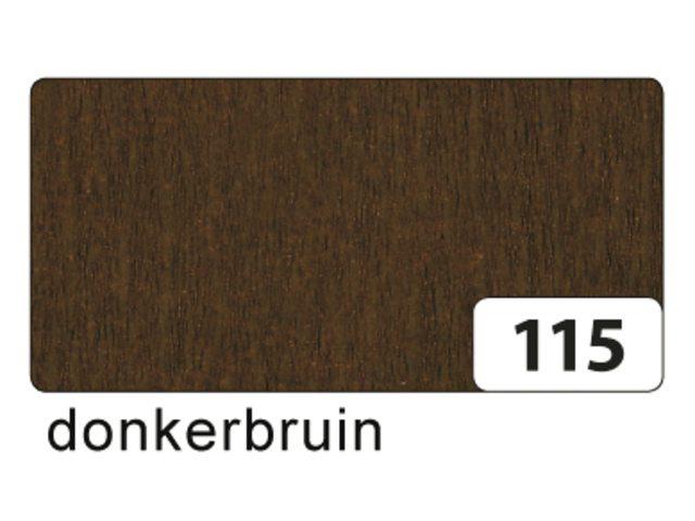 10 vel crepe folia chocolade 822115