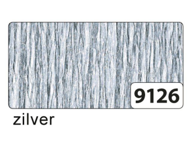 10 vel crepe folia zilver 8229126