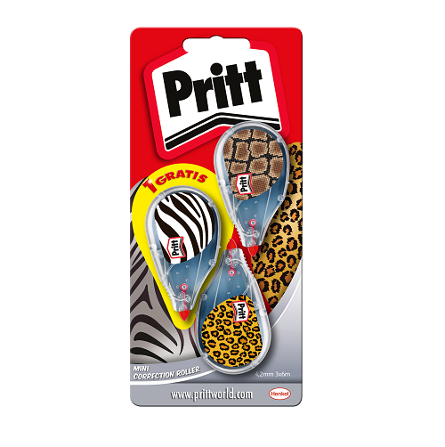 Pritt Correct-it Mini 2+1 gratis