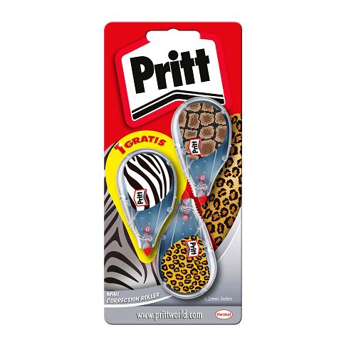 Pritt Correct-it Mini 2+1 gratis