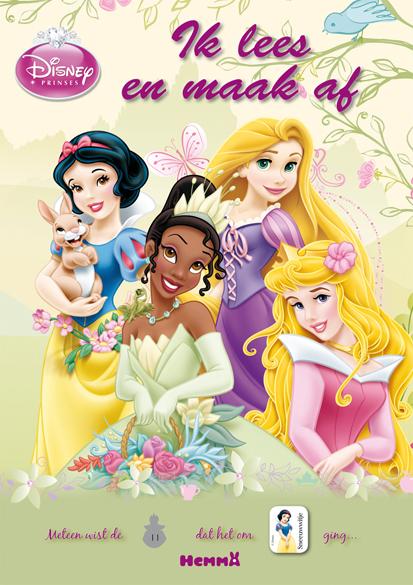 Disney prinsessen ik lees en maak af n70