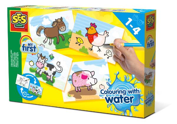 SES my first kleuren met water 14455