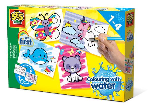 SES my first kleuren met water 14454