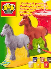 Ses Reliefgieten paard nr. 1211