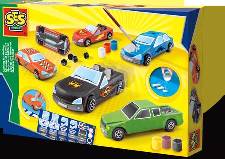 SES gieten en schilderen auto s 01401
