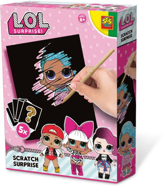 SES L.O.L. scratch surprise 14194