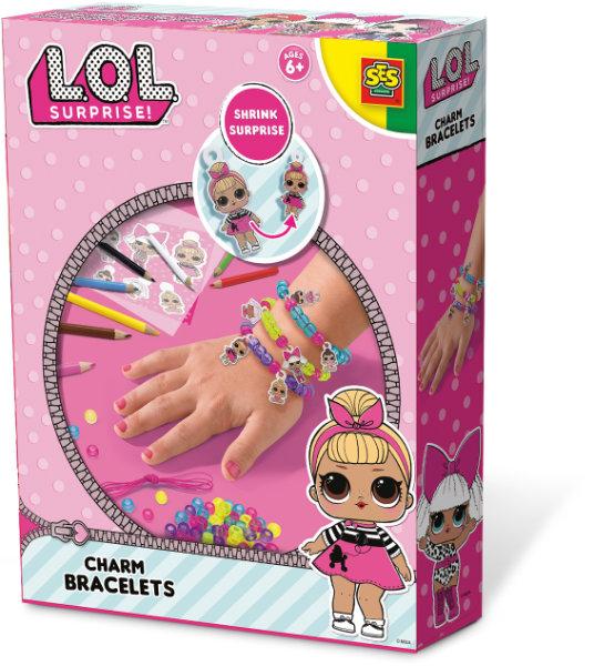 SES L.O.L. charm bracelets 14196