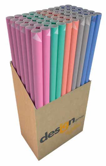 Kadopapier duo color kraft 200x70 cm
