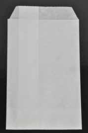 1.000 witte kraft zakjes 17.5*26 cm