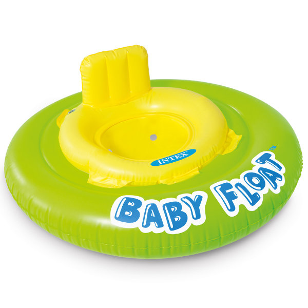 Intex Babyfloat neon rood 56588EU