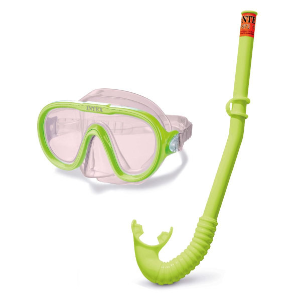 Duikbril + snorkel Intex 2 ass. 55942