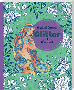 Glitterkleurboek mythical creatures 3218