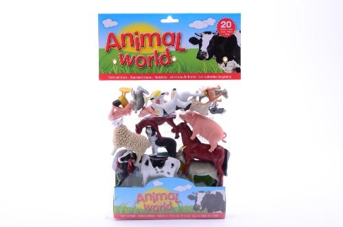 20 boerderijdieren in zak 26790
