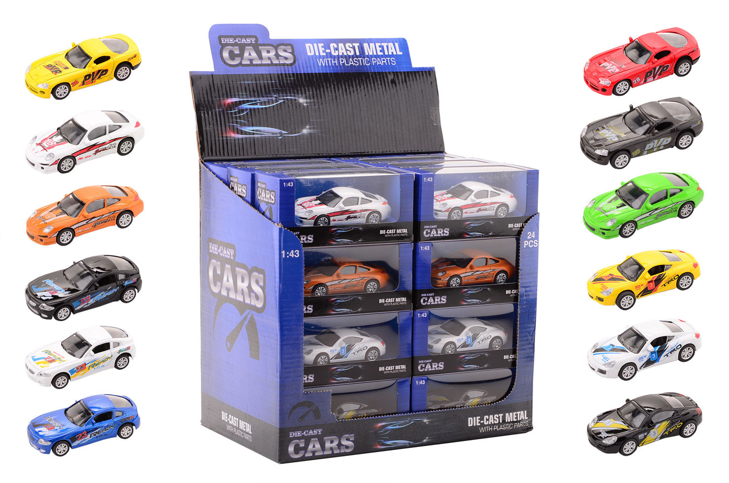Super cars die-cast auto 26091