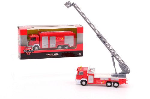 Super Cars brandweerauto 26065 1:64