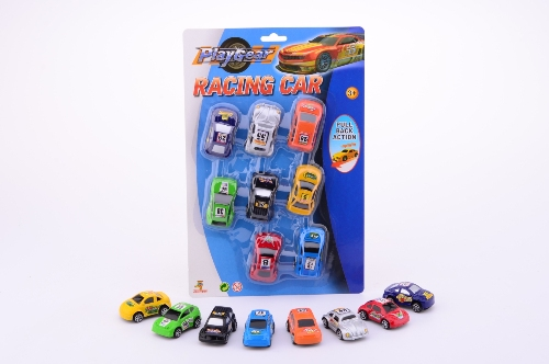 Action racing 8 pull back auto s 26757