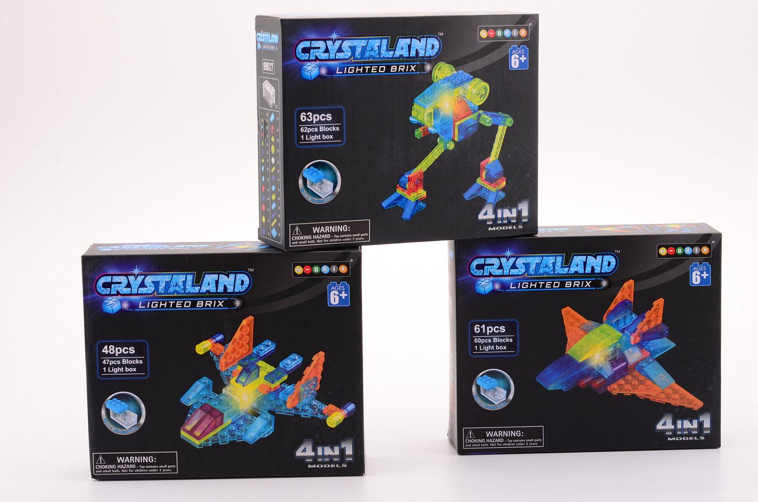 Crystalbricks met lichtblokje 26047