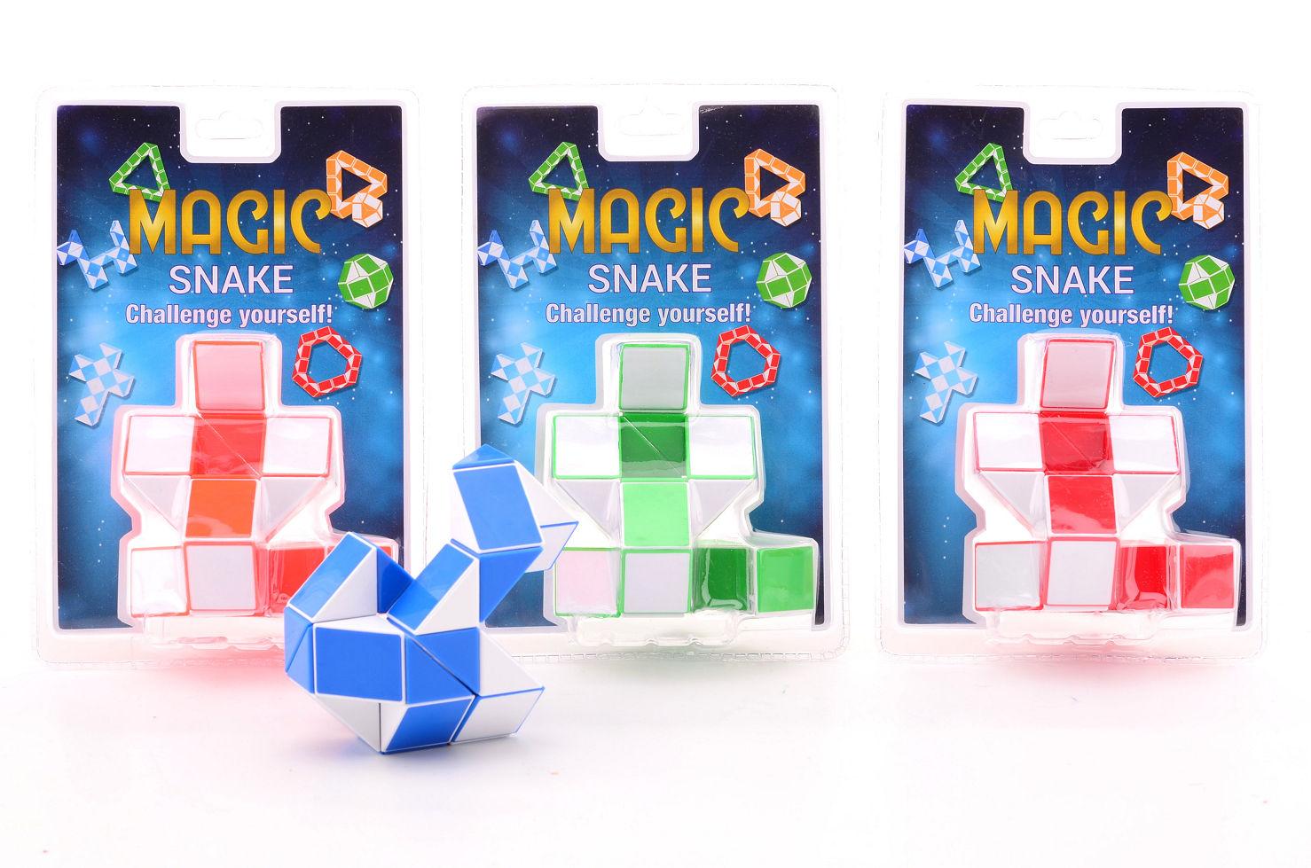 Magische puzzel slang in blister 25031