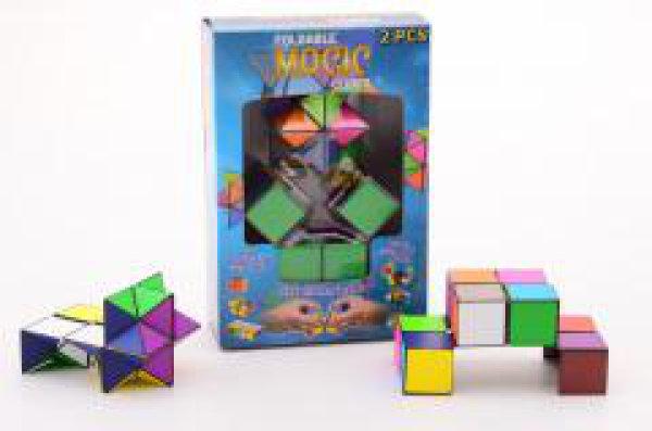 Vouwbare magische kubus 25030