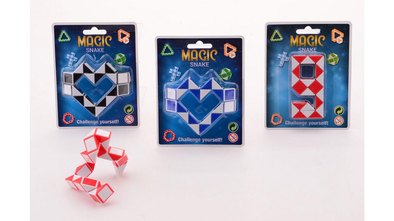 Magische slang op kaart 25036