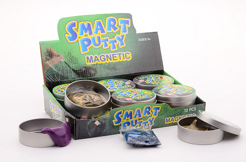 12 magnetische smart putty in blik 24294