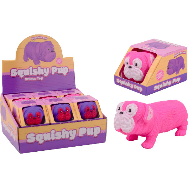 12 Squishy pup in display 29640