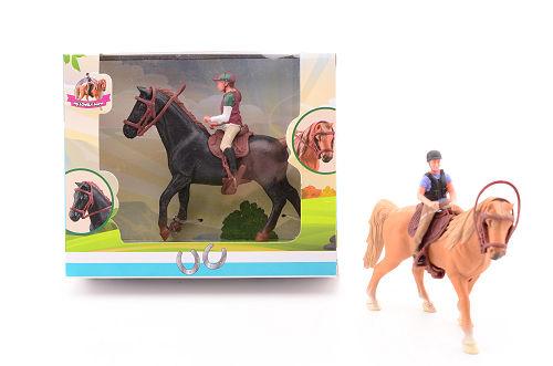 Paarden speelset starterset 27603 2 ass.