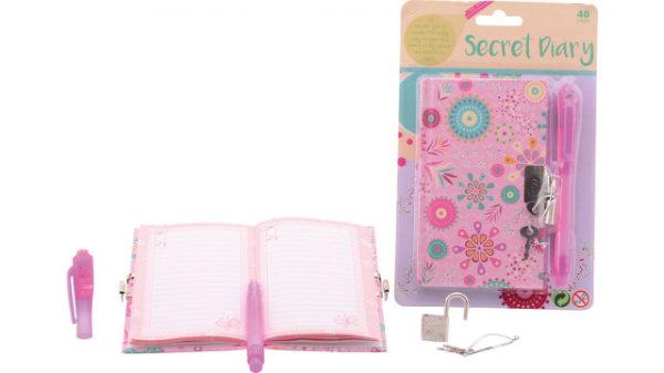 Meiden geheim dagboek met slot 28307