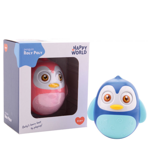 Happy World roly poly pinguin 22270