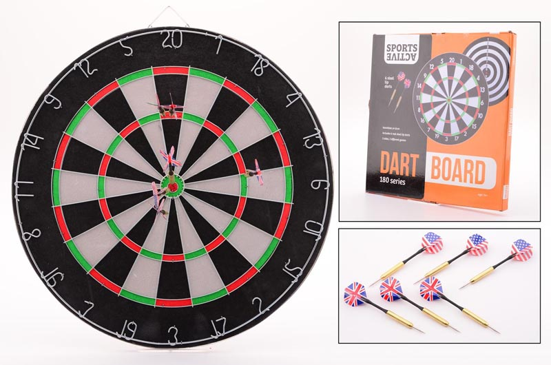 Sports active dartbord 45x2cm 20257