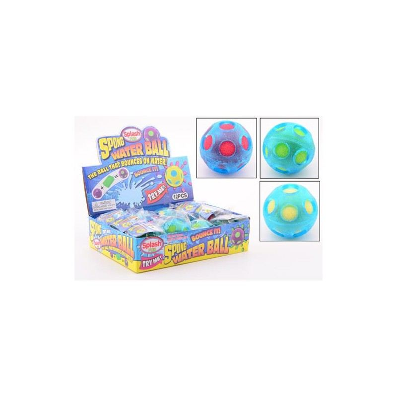 12 Sponge splash waterbal 29564