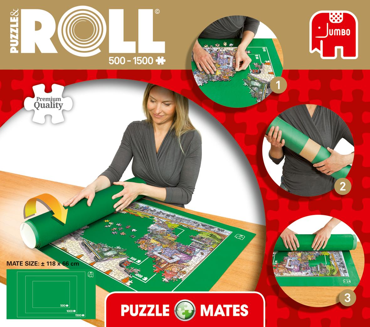 Jumbo Puzzle &roll mat 500-1500pcs 17690