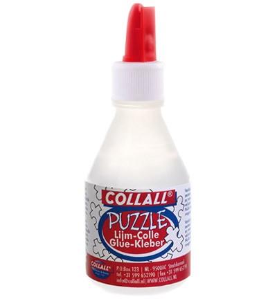 Collall flesje puzzellijm 100ml transp.