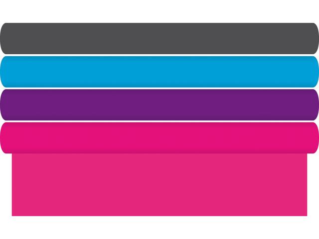 Kaftpapier - 4 kleuren assorti