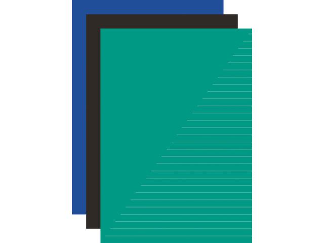 5 Schriften 80 blz gelinieerd A4 basic