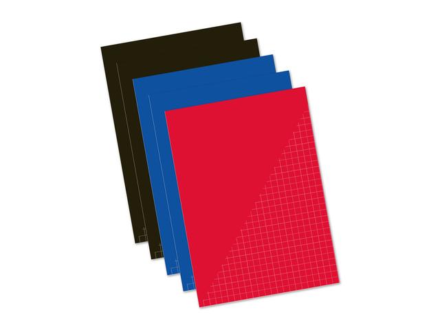 5 schriften 80 blz ruit 10mm A4 Basic
