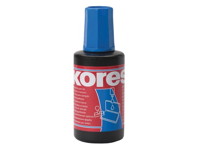 Inkt voor Stempelkussen Kores Blauw