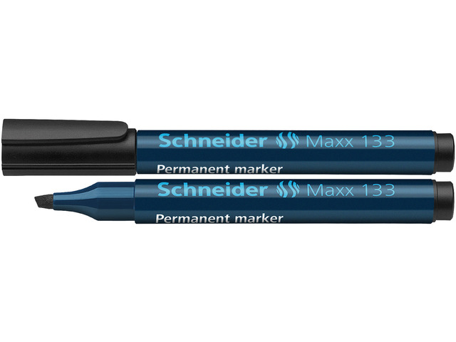 10 permanent marker schneider 133 zwart