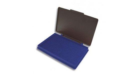 Stempelkussen 7x11cm Kores blauw