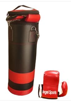 Bokszak 50cm met 2 handschoenen 704040