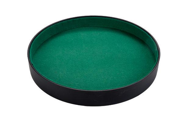 Pokerpiste imitatie leder 26cm 300803
