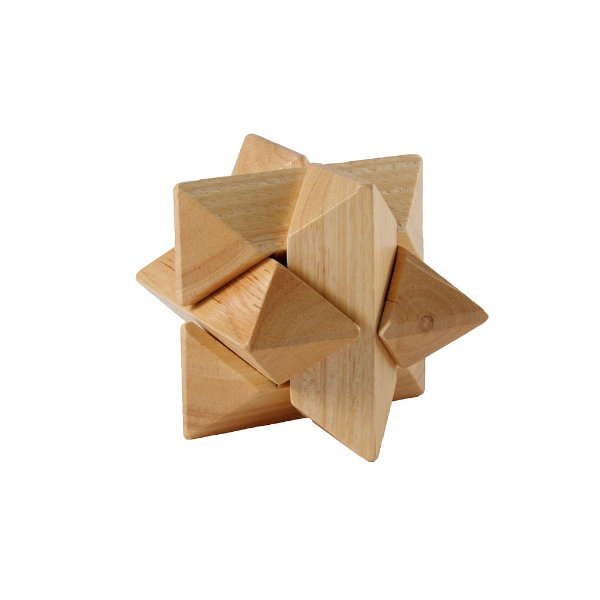 IQ puzzel hout vallende ster 340906