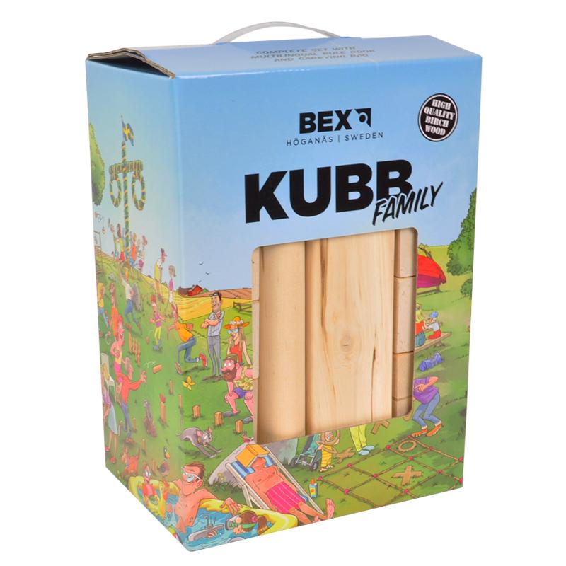 Houten spel kubb in doos basic 511014