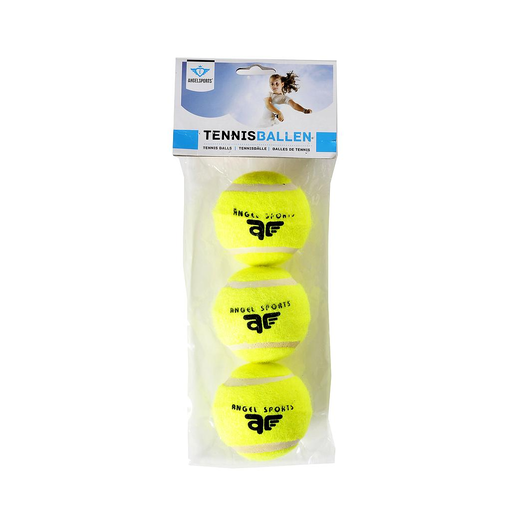3 Tennisballen in zak 755002