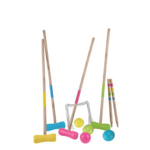 Croquetset voor 4 spelerers 75cm 604071